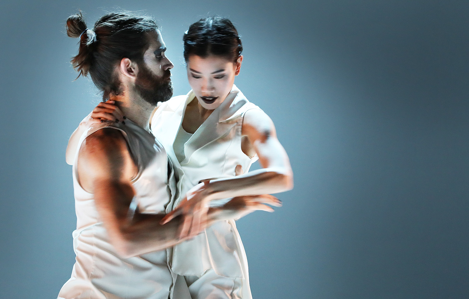 Ruben Garcia Arabit & Sana Sasaki - photo by Hans Gerritsen