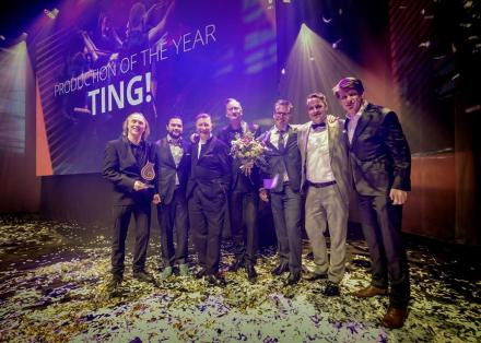 TING! uitgeroepen tot 'Production of the Year'